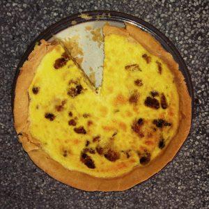 Roasted Cauliflower Quiche